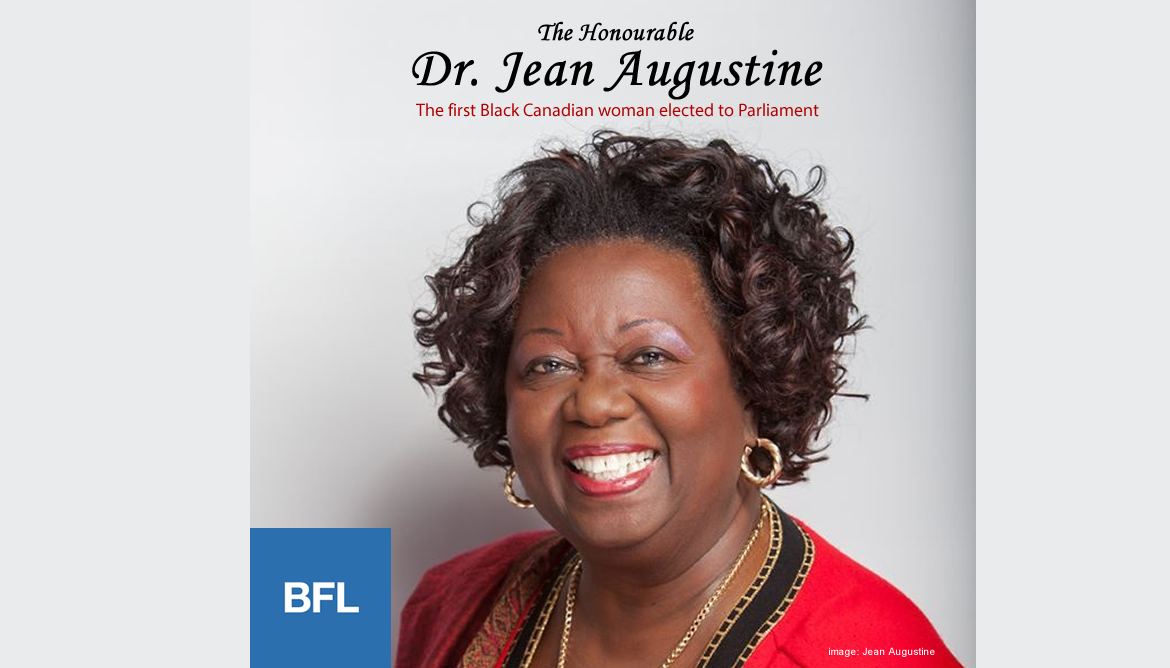 BFL Speaker: The Honourable Jean Augustine